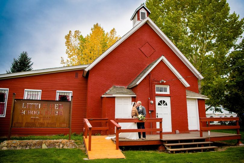 A little red school house
