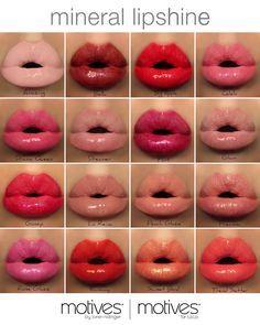 Mineral Lipsticks