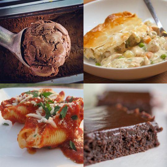 Mains and dessert