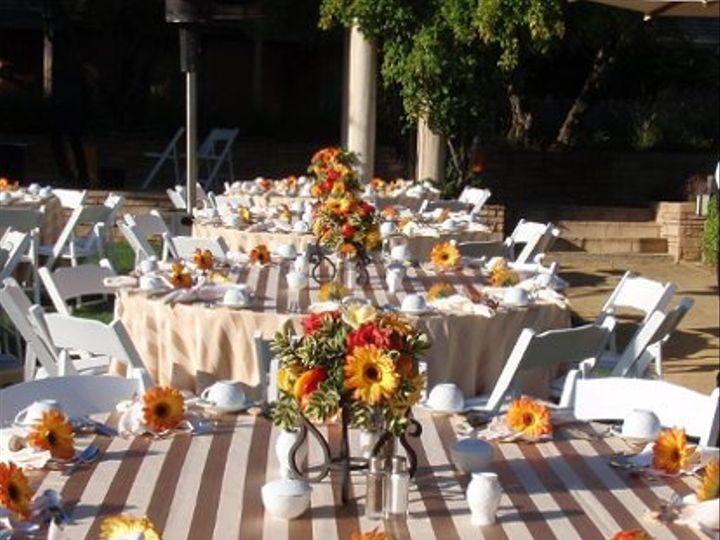 Tmx 1253386018900 BernardusWeddingGardenDinner Monterey wedding planner