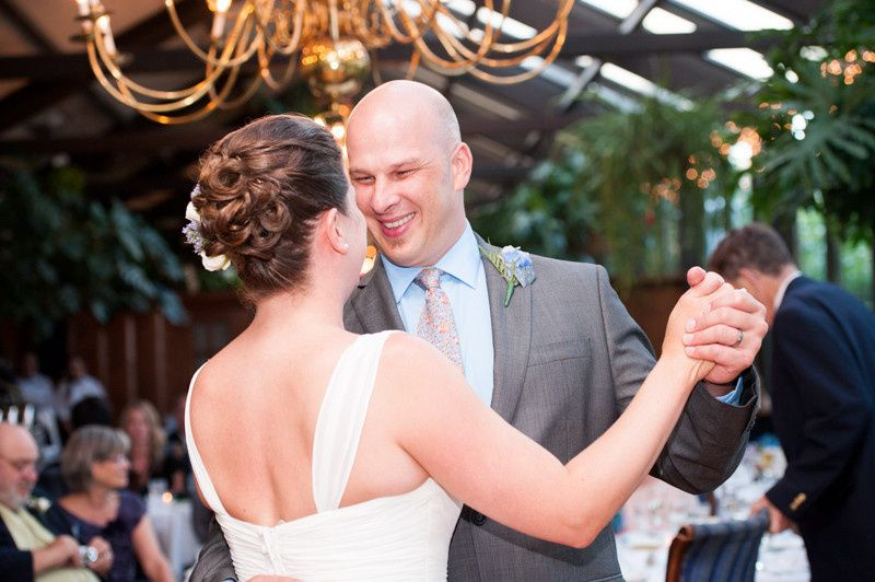 bride and groom first dance cape cod wedding 1