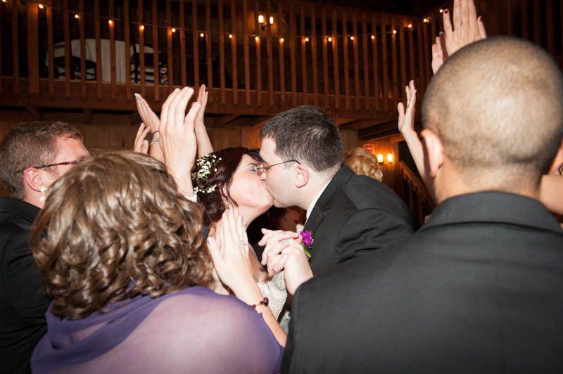 bride and groom on dance floor 1