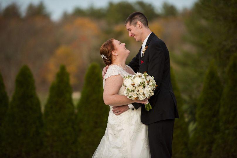 Late fall wedding