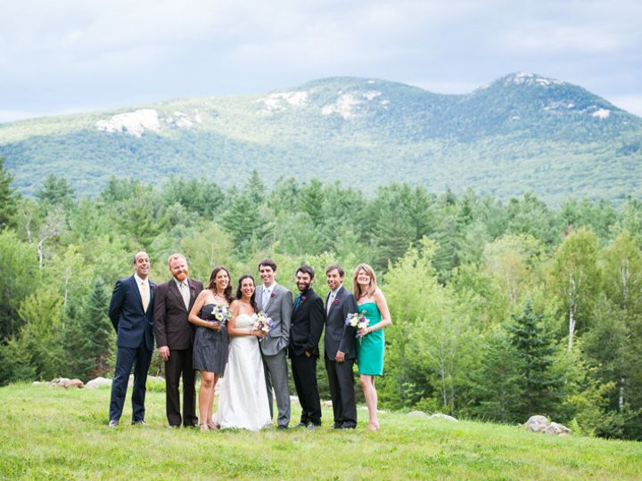 Tmx 1378480136604 Bridal Party White Mountains 1 Roslindale, MA wedding photography