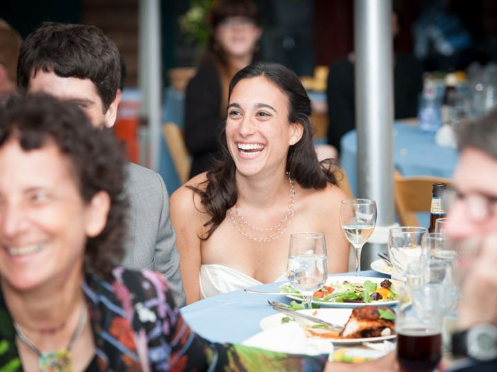 Tmx 1378480173894 Bride Laughing During Toast 1 Roslindale, MA wedding photography