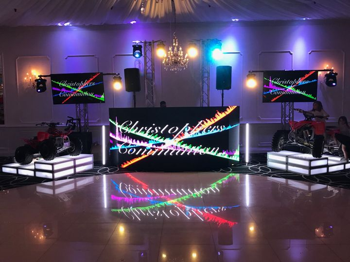 VIDEO WALL DJ BOOTH