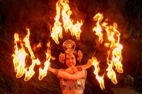 Mystica Fiora - Fire, LED and Belly Dancer