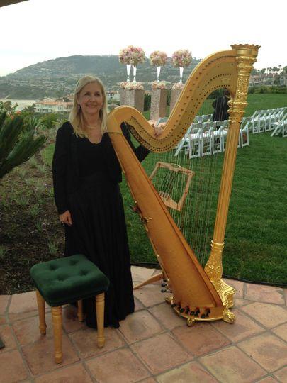 orange county harpist ritz carlton