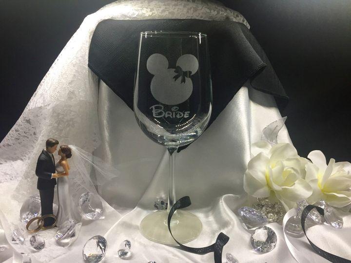 Disney glass