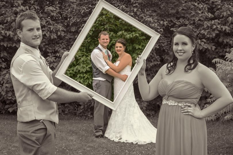 Framing the couple