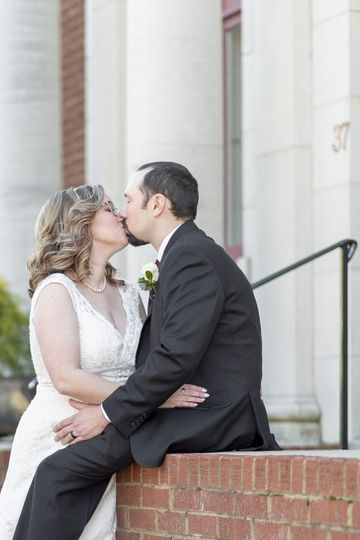 Those just married kisses!