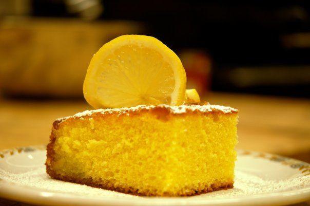 Paradise lemon cake