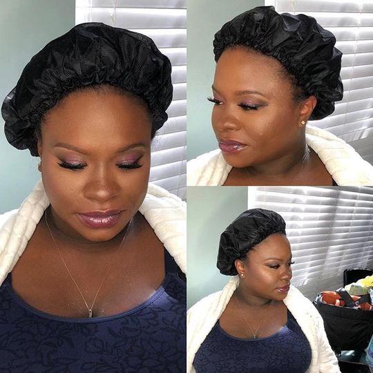 Angles of hairdo