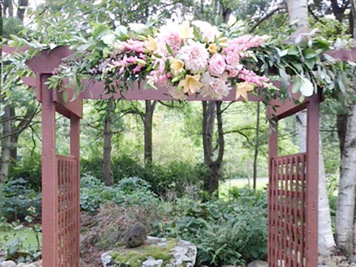 Tmx Ohara Outdoor Wedding Arbor Ww 51 1862309 1565294724 Pittsford, NY wedding florist