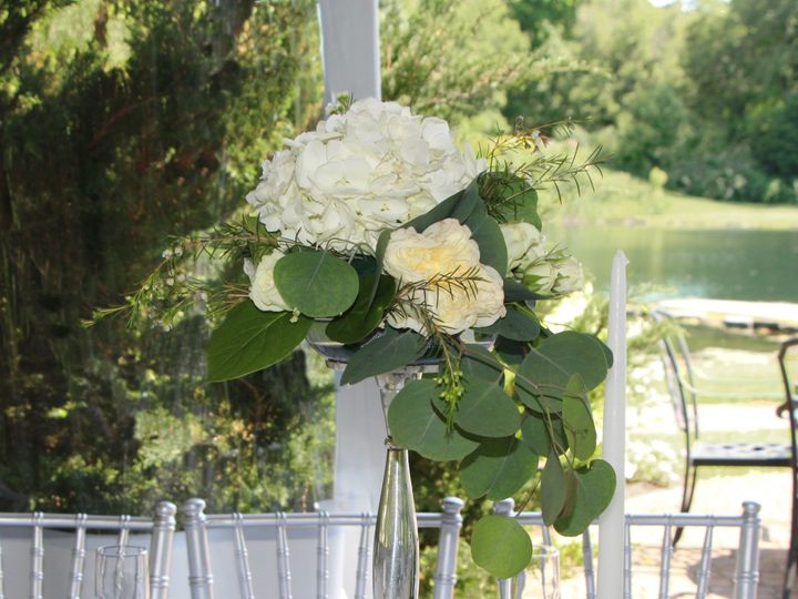 Tmx Small Centerpiece 2 Centered W Pond Copy 51 1862309 1566005998 Pittsford, NY wedding florist