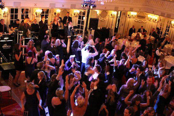 Dance floor at Blackstone Hotel