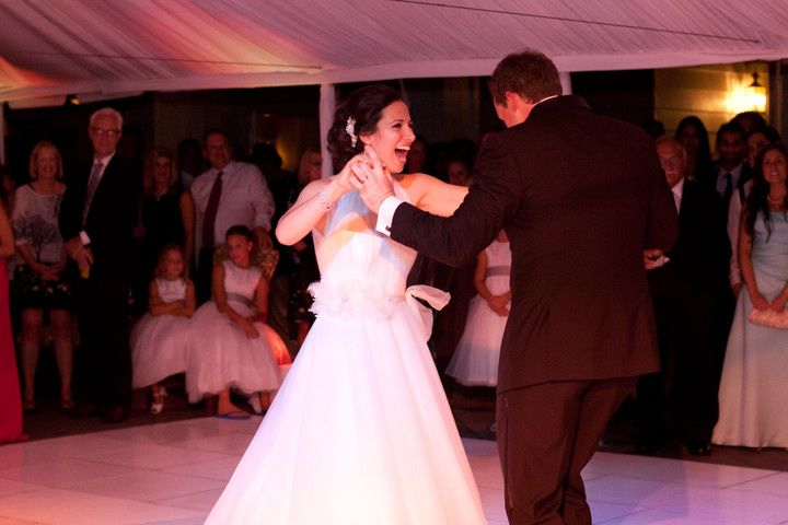 First dance at Westmoreland Country Club