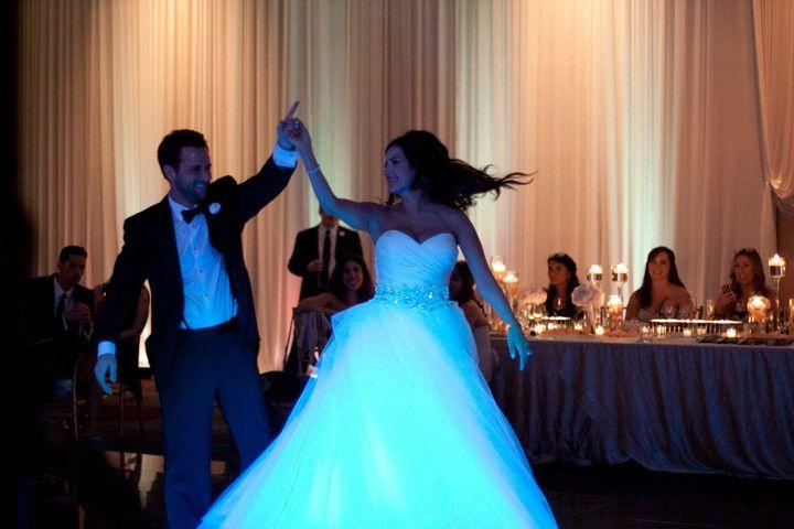First dance at Sofitel