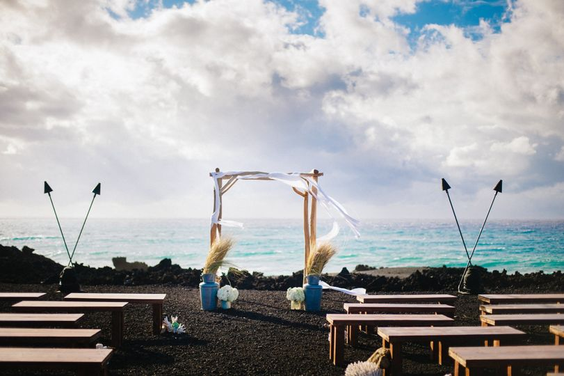 kukio beach club wedding 28