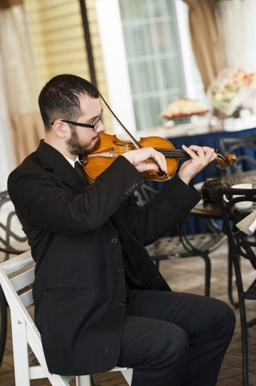 Solo Violin for Ceremony or Cocktail Hour. Strolling Violin for Cocktail Hour