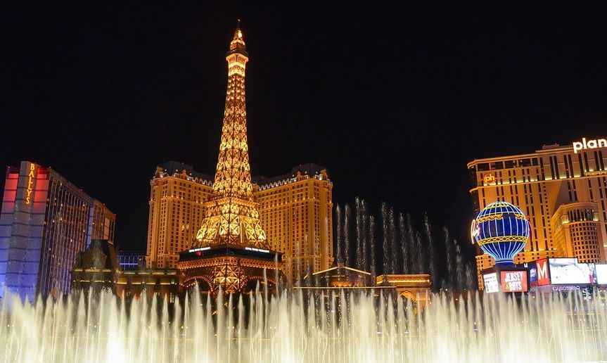 Many romantic Vegas honeymoon getaway packages available. All budgets welcome!