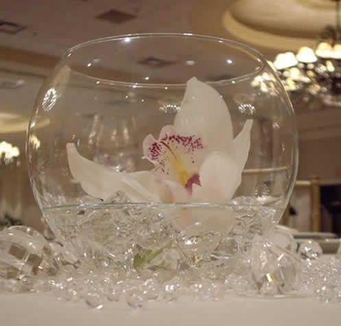 All white glass