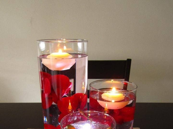 Tmx Floating Candle Centerpiece With Flower17 51 115309 158275492664557 El Monte, California wedding favor