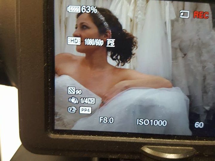 Tmx 1495287081939 Behind The Scenes Southampton wedding dress