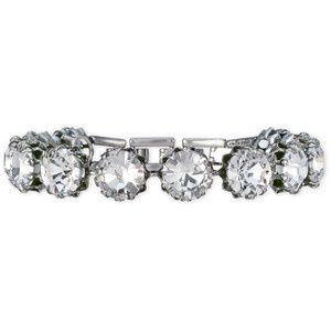 VINTAGE CRYSTAL BRACELET  Stunning and elegant. Hand-set crystal glass stones sit in beautiful...