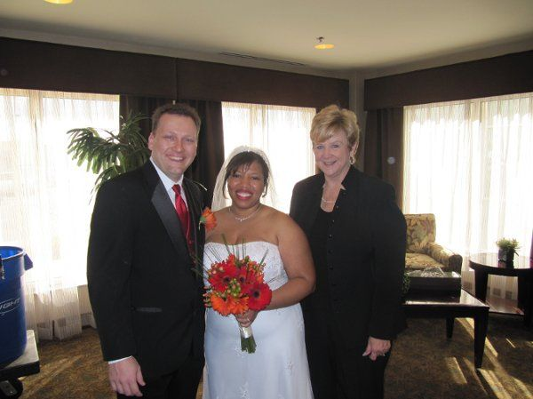 This was a beautiful fall wedding at the Hilton Gardens with the bride and groom coming in from...