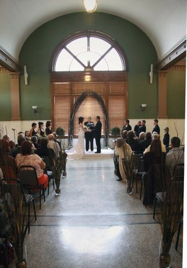 The Historical Depot in Billings is am amazing setting for weddings and receptions.