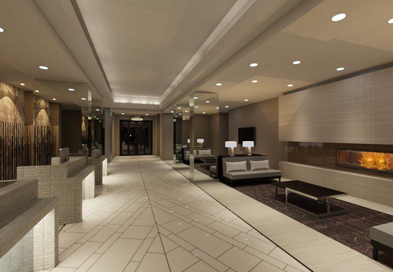 Hallway and waiting area