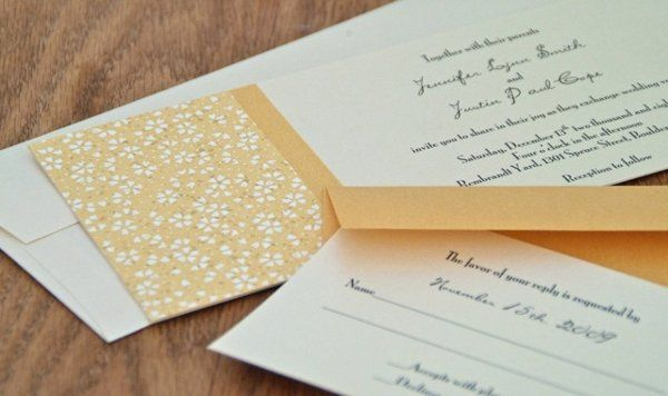 Tmx 1282878103547 Yellowflower Longmont wedding invitation