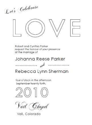 Tmx 1282878104125 Loveinvail325x438 Longmont wedding invitation