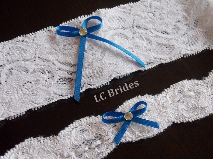 Garter Set - Custom made garters are available.