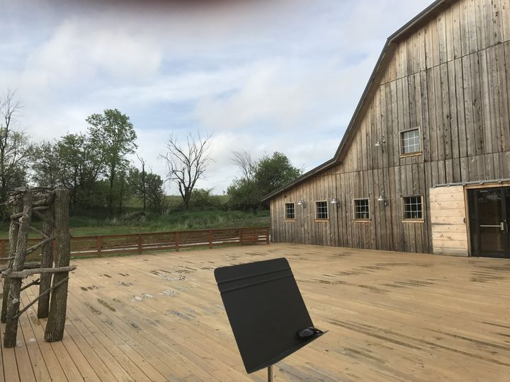 Violin music for wedding rehearsal 5/10 - Sunset Ridge Barn