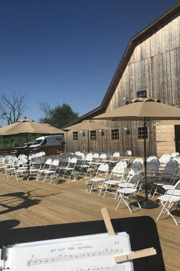 Violin music for 5/13 wedding - Sunset Ridge Barn