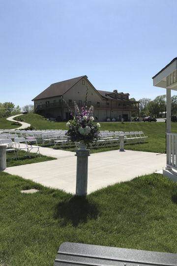 Violin music for outdoor wedding 5/7 - The Chateau at White Oak