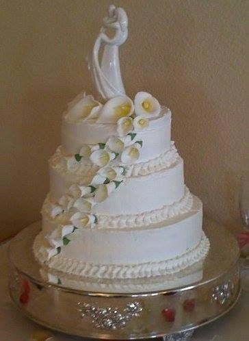 Tmx 1400822064788 Calla Lillie San Antonio wedding cake