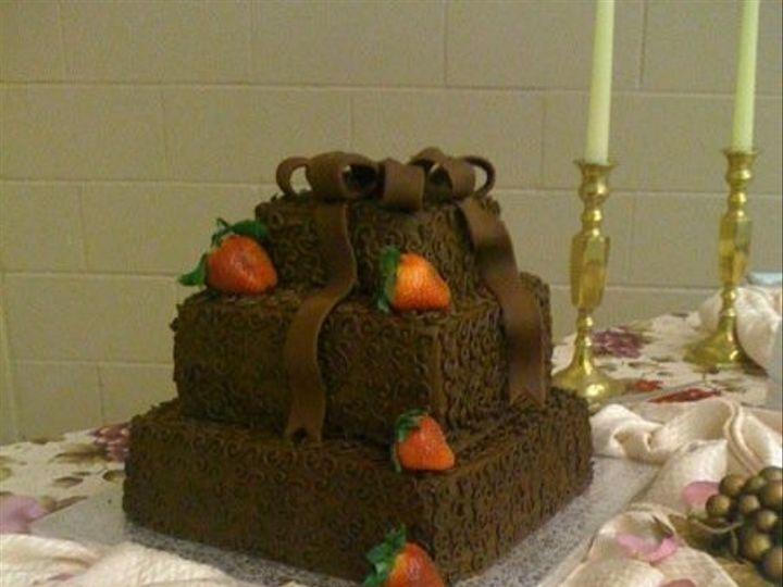 Tmx 1400822113953 Chocolate Scroll San Antonio wedding cake