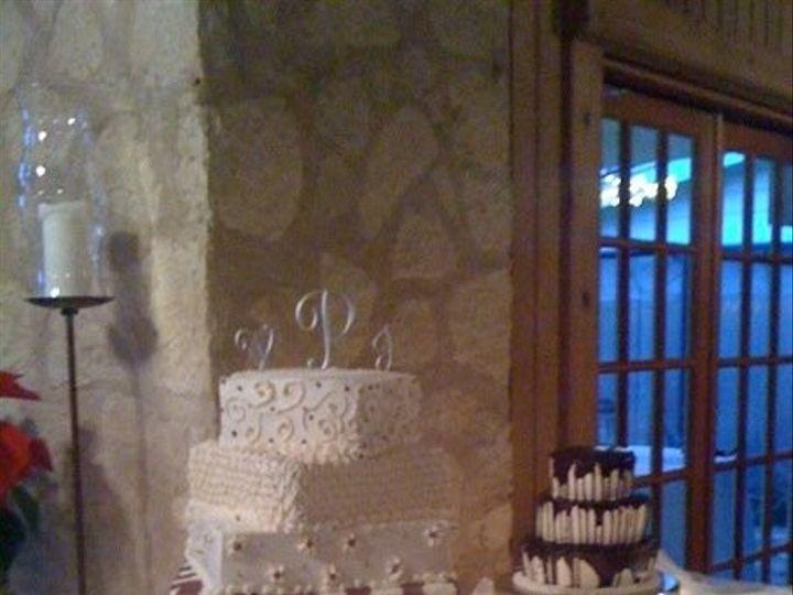 Tmx 1401338899346 Valier Dual Cake San Antonio wedding cake