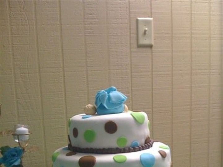 Tmx 1401339067285 Julie Baby Showe San Antonio wedding cake