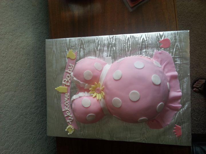 Tmx 1401339126744 Preggo Shower Cake I San Antonio wedding cake