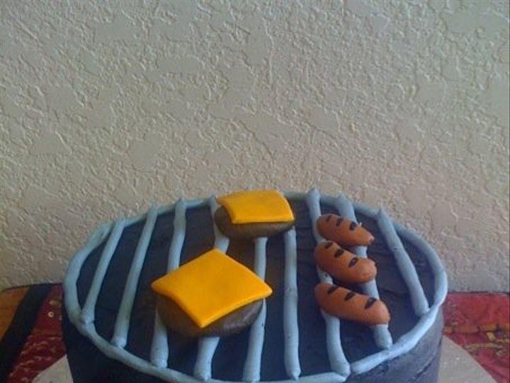 Tmx 1401339933922 Grill Cak San Antonio wedding cake