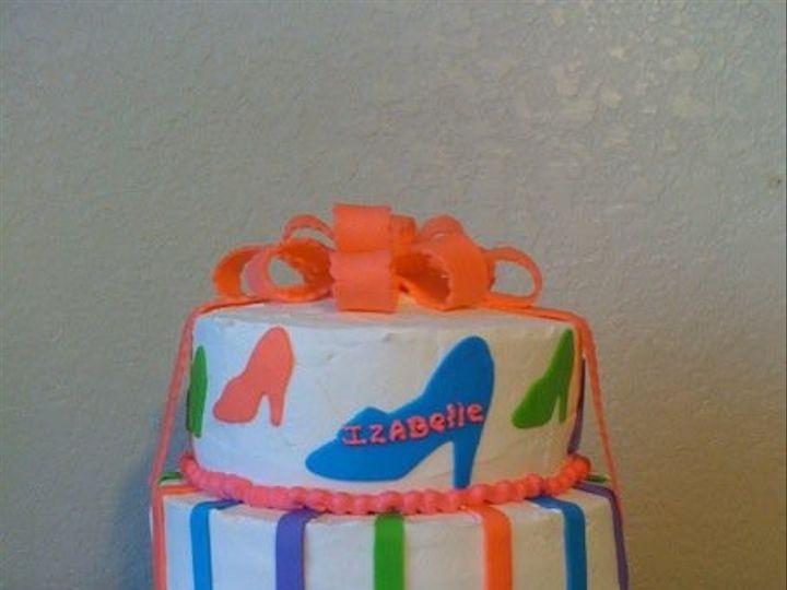 Tmx 1401340005585 Shoe San Antonio wedding cake