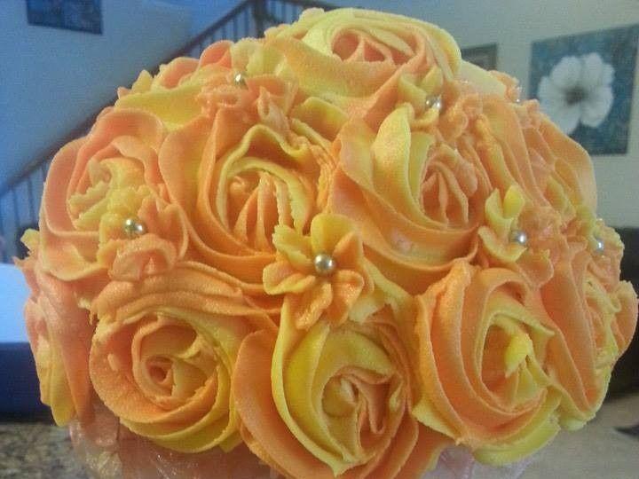 Tmx 1401340207338 Cupcake Orang San Antonio wedding cake