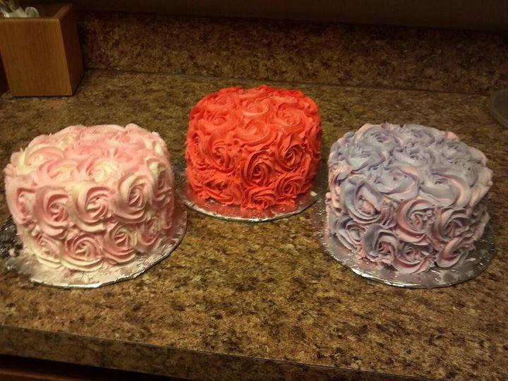 Tmx 1401340356358 Rose Cake San Antonio wedding cake