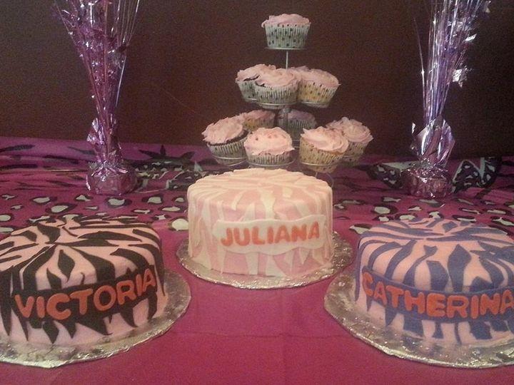 Tmx 1401340390202 Twin San Antonio wedding cake