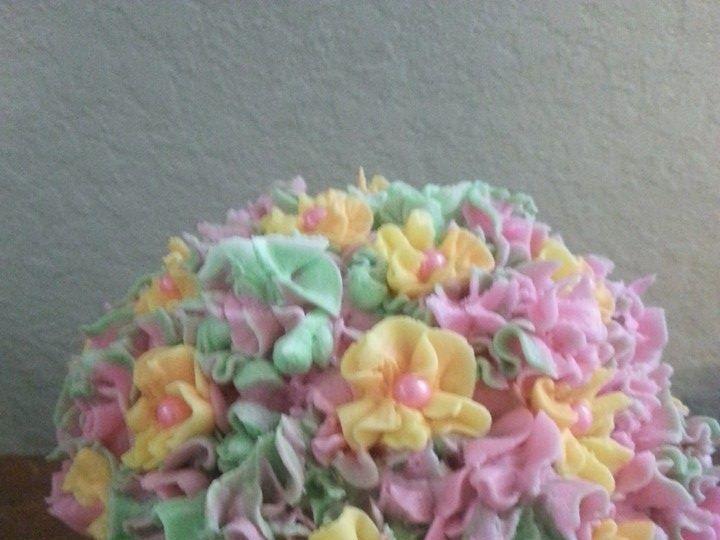 Tmx 1401340464940 Hyrdrangeas Pastel San Antonio wedding cake