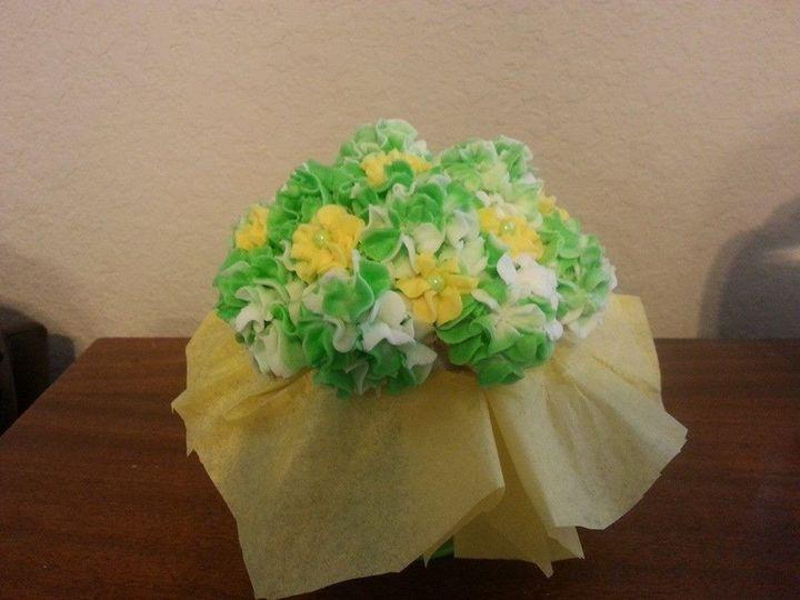 Tmx 1401340482021 Hydrangeas Gree San Antonio wedding cake